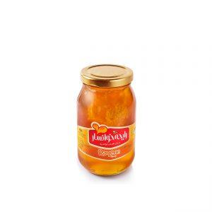 عسل با موم 650 گرمی رایحه