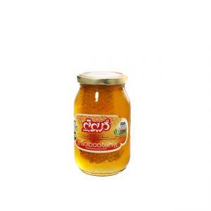 عسل با موم ۶۵۰ گرمی گلبوته