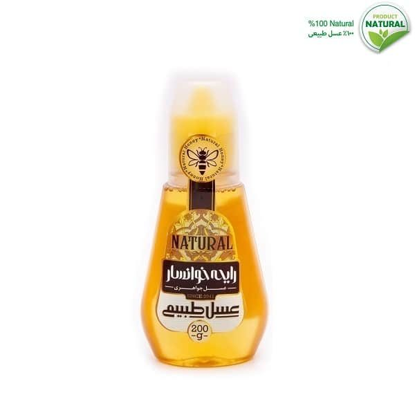 عسل طبیعی آسان ریز 200 گرمی رایحه خوانسار