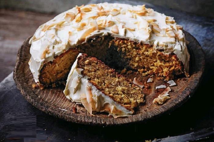 دستور تهیه کیک عسل - جعفری نارگیلی