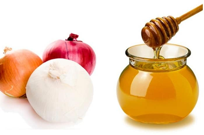 فواید عسل و آب پیاز برای مو